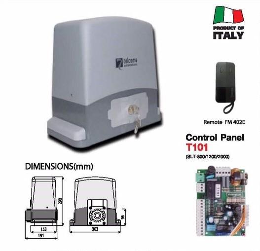 ประตูอัตโนมัติ TELCOMA SLT 800/1200