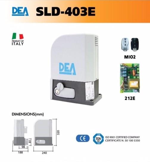 ประตูรีโมท DEA-sld-403e